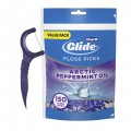 Зубная нить Oral-B Glide 3d White Floss Picks Arctic Peppermint Oil 75штук