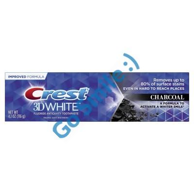 Зубная паста Crest 3D White Charcoal Whitening