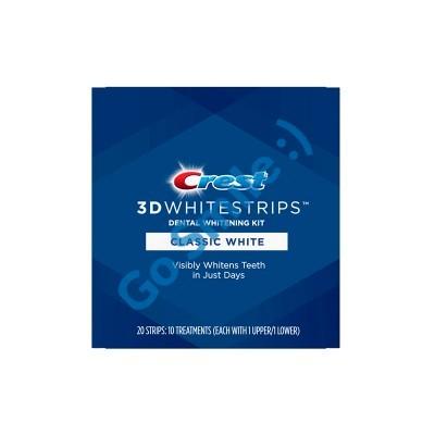 CREST 3D WHITE WHITESTRIPS CLASSIC WHITE