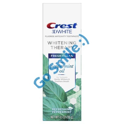 CREST 3D WHITE WHITENING THERAPY - PEPPERMINT OIL