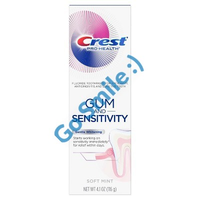 CREST GUM AND SENSITIVITY GENTLE WHITENING
