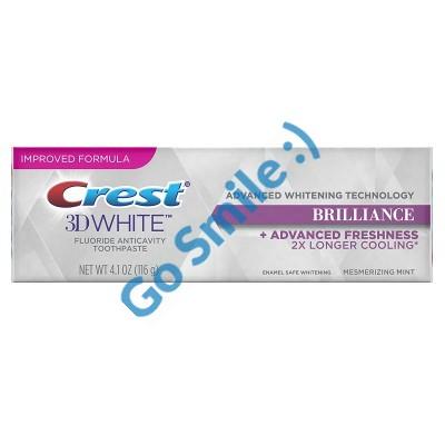 ЗУБНАЯ ПАСТА Crest 3D White Brilliance Advanced Teeth Whitening + Advanced Freshness
