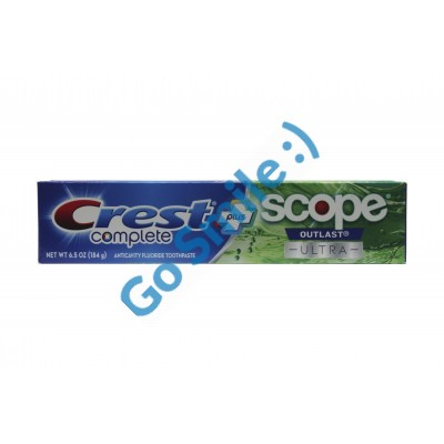 Crest Complete Whitening + Scope Mint Outlast Ultra Toothpaste