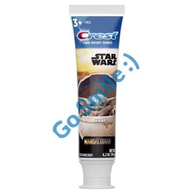 Crest Kid's featuring Star Wars The Mandalorian Strawberry