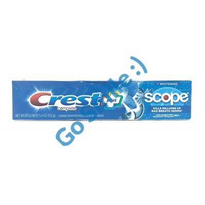 Зубная паста Crest Complete Whitening + Scope Cool Peppermint
