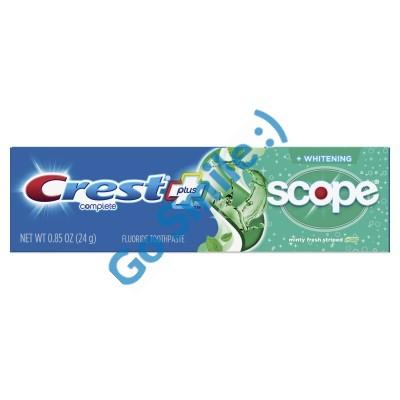 Зубная паста Crest Complete Whitening + Scope