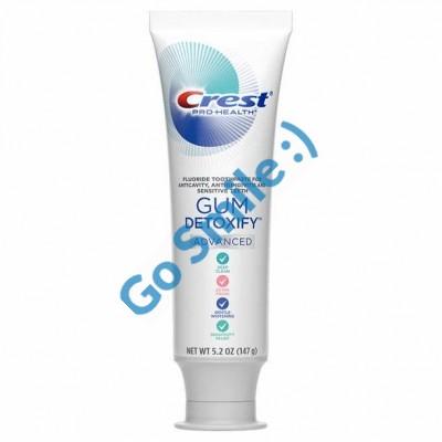 Зубная паста Crest Gum Detoxify Advanced