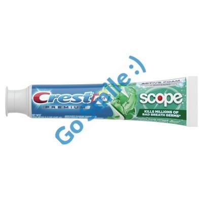 Зубная паста Crest Premium Plus Scope