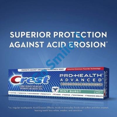 Crest Pro-Health Advanced Antibacterial Protection Mint Burst