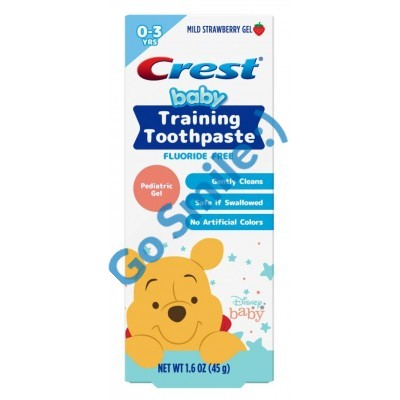 Crest Baby Training Toothpaste Kit 0-3 Years
