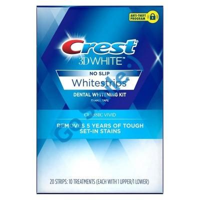 CREST 3D WHITE WHITESTRIPS CLASSIC VIVID