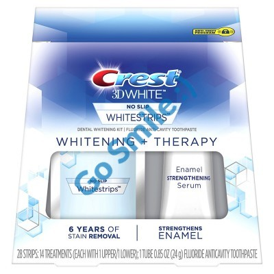 CREST 3D WHITE WHITESTRIPS WHITENING+ THERAPY