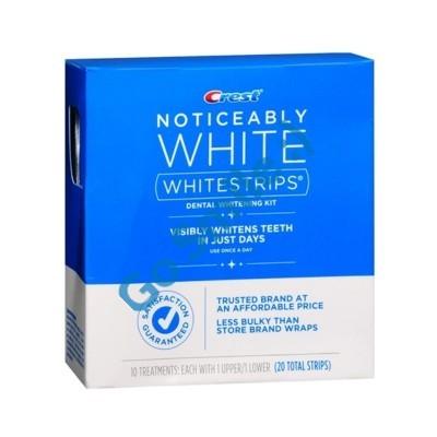 CREST WHITESTRIPS NOTICEABLY WHITE