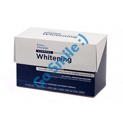CREST WHITESTRIPS SUPREME PROFESSIONAL 21 ДЕНЬ