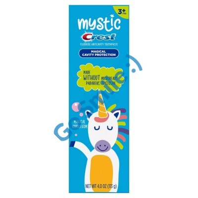MYSTIC by Crest Kid's with Fluoride Magical Bubble Gum