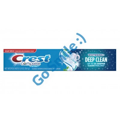 ЗУБНАЯ ПАСТА CREST COMPLETE WHITENING PLUS DEEP CLEAN