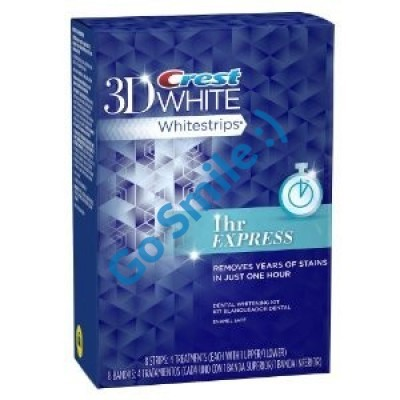 CREST 3D WHITE WHITESTRIPS 1 HOUR EXPRESS 4 ДНЯ