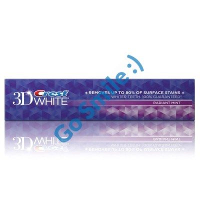 Crest 3D White Radiant mint