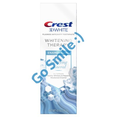 CREST 3D WHITE WHITENING THERAPY ENAMEL CARE TOOTHPASTE
